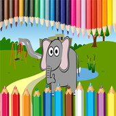 Coloring Dumbo icon