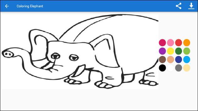 Coloring Dumbo screenshot 8