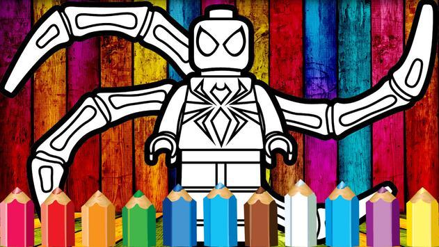Coloring Lego Venom screenshot 6