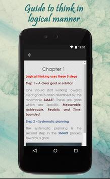 Tips To Think Logically apk screenshot