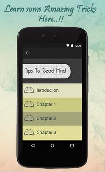 Tips To Read Mind screenshot 1