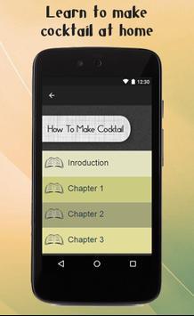 How To Make Cocktail apk screenshot