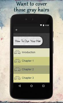 How To Dye Your Hair apk screenshot