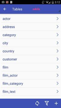 Mobile DB Client screenshot 4