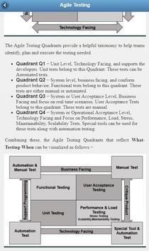 Learn Agile Testing apk screenshot