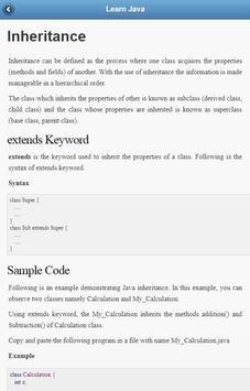 Java Tutorial screenshot 6