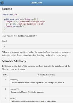 Java Tutorial screenshot 2