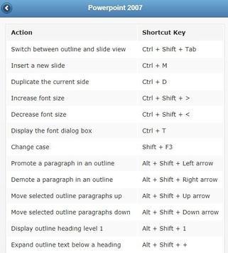 Keyboard Shortcuts screenshot 3