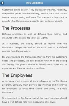 Learn Six Sigma Offline poster