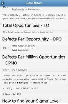 Learn Six Sigma Offline screenshot 1