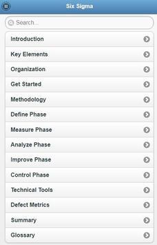 Learn Six Sigma Offline screenshot 2