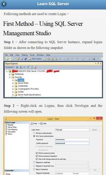 SQL Server Tutorial screenshot 1