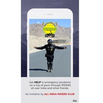 Bikers Help poster