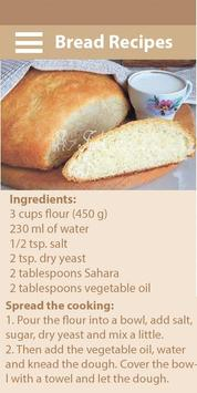 Recipes of bread poster