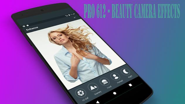 Pro612 Camera Selfie poster