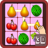 Fruity Match 3D icon