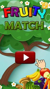 Fruity Match 3D poster