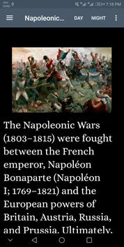 Napoleonic Wars -History screenshot 1