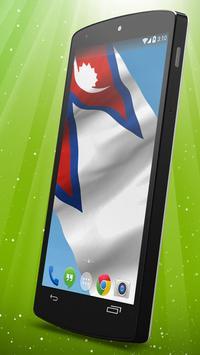 Nepali Flag Live Wallpaper apk screenshot