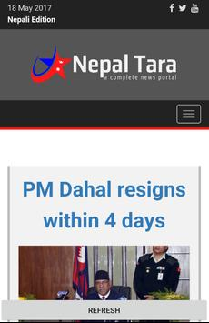 Nepaltara News English Edition poster