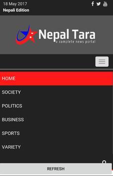 Nepaltara News English Edition apk screenshot
