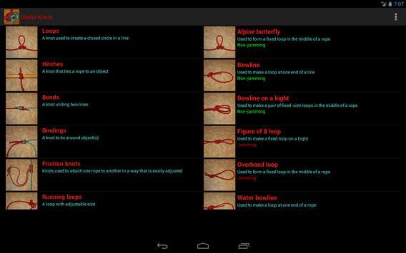 Useful Knots screenshot 5