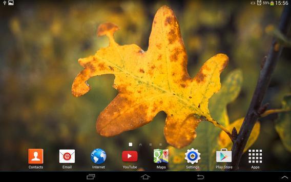 Autumn Live Wallpaper 2014 screenshot 4