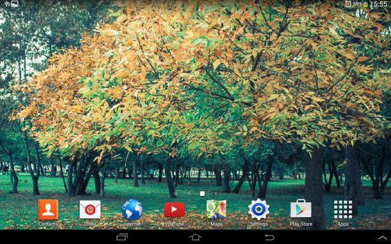 Autumn Live Wallpaper 2014 screenshot 5