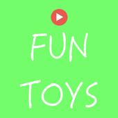 Fun Toys Disney Toys Youtube icon