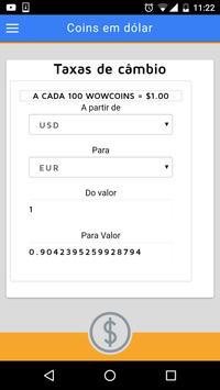 Convite Vip Wowapp - Dinheiro screenshot 4