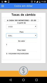 Convite Vip Wowapp - Dinheiro screenshot 6