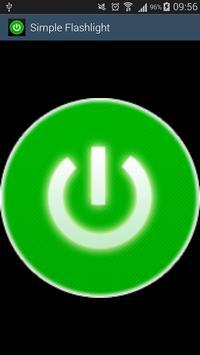 Simple Flashlight apk screenshot