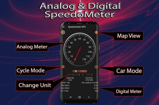 GPS Speedometer:Odometer,Trip Meter, Track Info screenshot 6