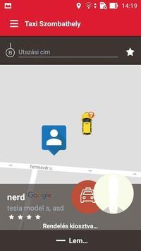 App Taxi - Szombathely screenshot 2
