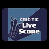 Cric-Tic Live Cricket Score icon