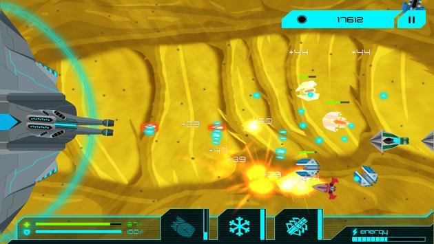 دفاع الفضاء apk screenshot