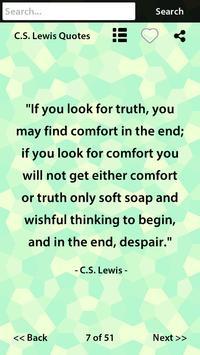 C.S. Lewis Quotes apk screenshot