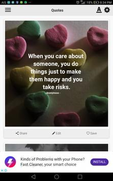 Caring Quotes poster