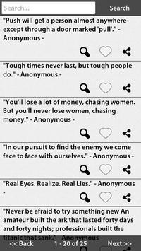 Clever Quotes apk screenshot