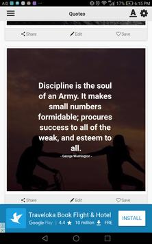 Army Quotes poster