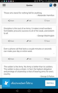 Army Quotes screenshot 2