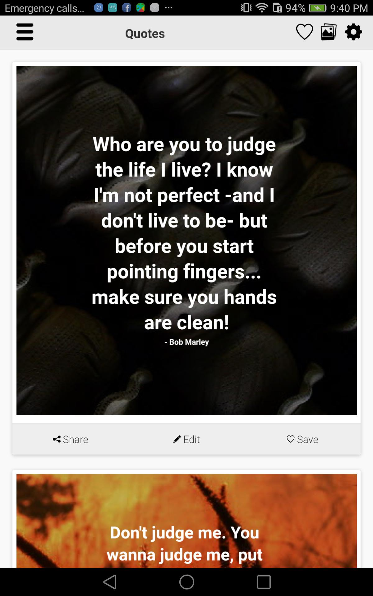 Don\'t Judge Me Quotes for Android - APK Download