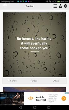 Karma Quotes poster