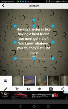 Sister Quotes poster