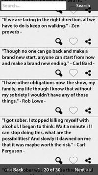 Recovery Quotes apk screenshot