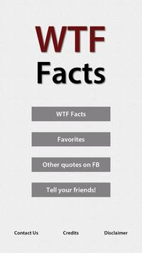 WTF Facts poster