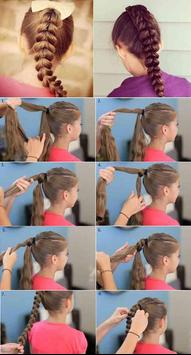 Easy Little Girl Hairstyle apk screenshot