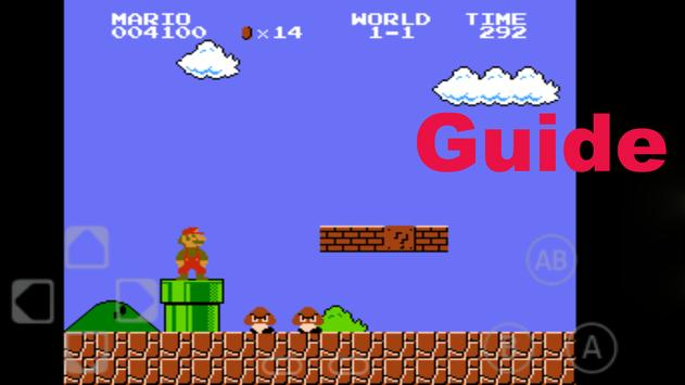 Guide Super Mario Brothers poster
