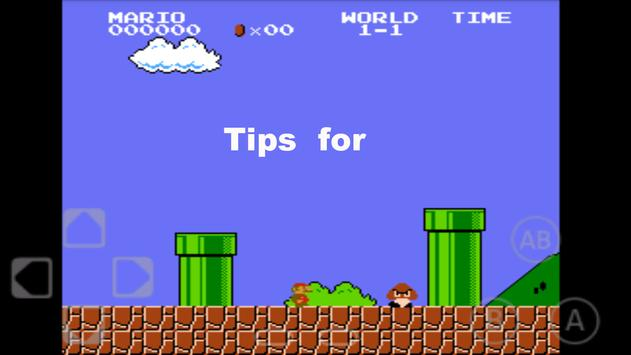 Tips for Super Mario poster