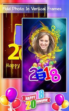 New Year Photo Frames 2018 apk screenshot